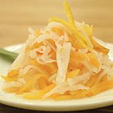 『大根と柿の甘酢和え(小)』の画像