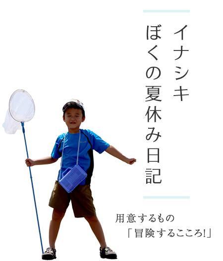 『イナシキ ぼくの夏休み日記』の画像