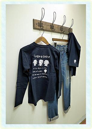 『いなのすけTシャツ』の画像