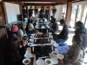 『haneyasumeにて昼食』の画像