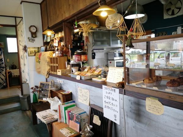 『カフェぼっくり店内』の画像